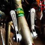 Nice old Shimano 600 friction shifters on a vintage Velohellip