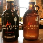 Some home town brew from @oldflamebrewery