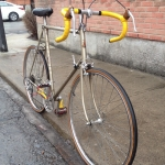 Raleigh Carlton 'Corsair' 63 cm road bike. Meant for someone…